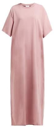 Raey Jersey Maxi T Shirt Dress - Womens - Pink