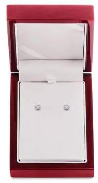 Lord & Taylor Diamond and 14K White Gold Stud Earrings,0.33 TCW