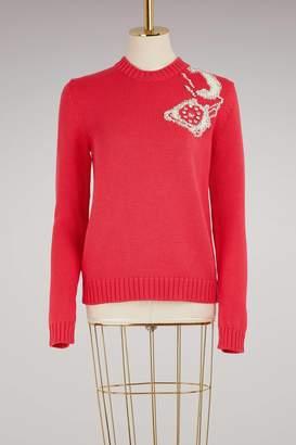 Miu Miu Woolen Phone Sweater