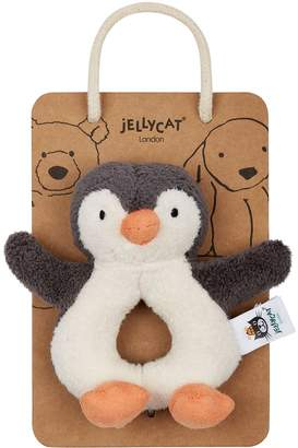 Jellycat Pippet Penguin Rattle Toy (13cm)