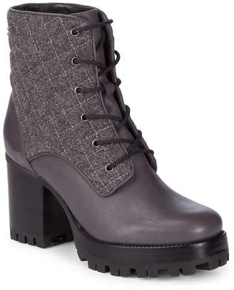 Schutz Women's Kerrigan Quilted Booties