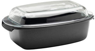 """Berndes SignoCast 9.2"""" Multi-Purpose Roaster with Glass Lid"""