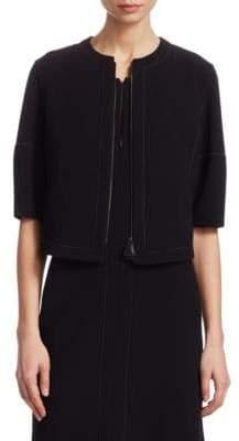Akris Stretch-Wool Jacket