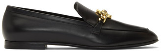 Versace Black Medusa Chain Loafer