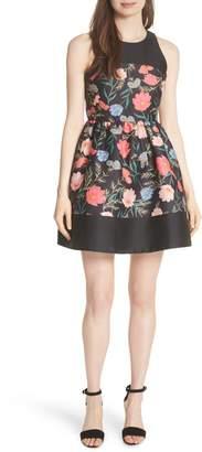 Kate Spade Blossom Flared Mini Dress