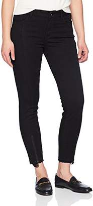 Madison Denim Women's Astor Skinny Ankle Jean with Front Seam and Zipper