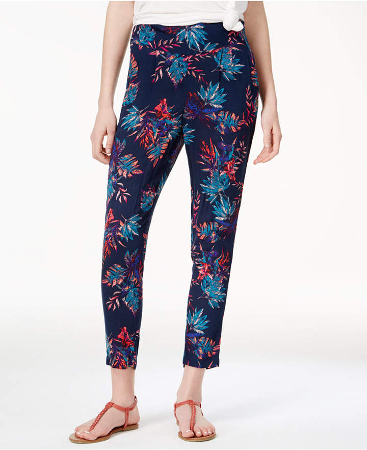 Roxy Juniors' Printed Cropped Pants