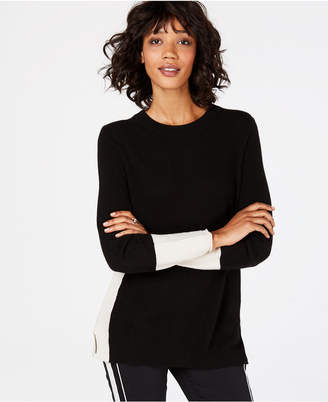 Charter Club Colorblocked Cashmere Sweater