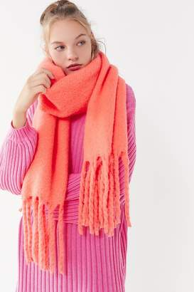 Urban Outfitters Sophia Cozy Nubby Oblong Scarf