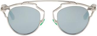 Dior Silver So Real Sunglasses $620 thestylecure.com