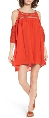 Women's Rip Curl Amorosa Cold Shoulder Dress $54 thestylecure.com
