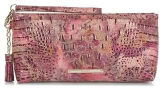 Brahmin Kayla Embossed Leather Clutch
