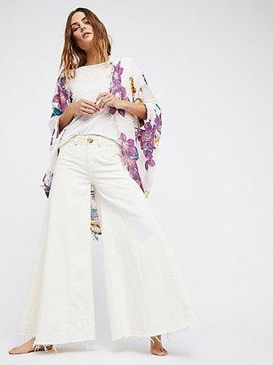 Good Vibrations Printed Cocoon Kimono by FP X at Free People $48 thestylecure.com