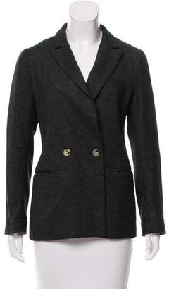 Steven Alan Wool-Blend Peak-Lapel Blazer