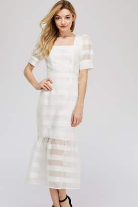 e2b342784b5c White Fit And Flare Dress - ShopStyle UK