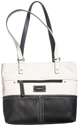 At Jcpenney Co Stone And Donna Leather Tote Bag