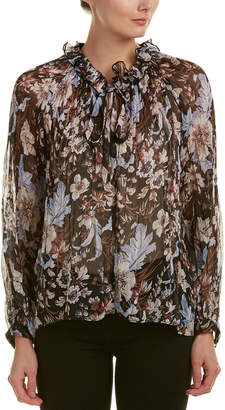Lucy Paris Floral Blouse