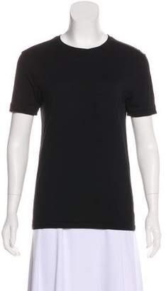 MAISON KITSUNÉ Crew Neck Short Sleeve T-Shirt