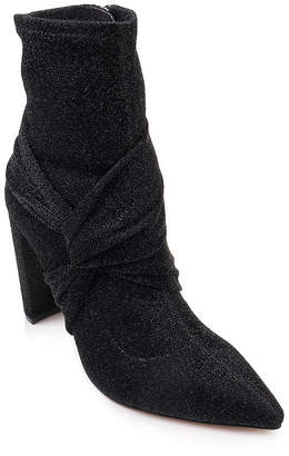 Badgley Mischka Romance Stretch Booties Women Shoes