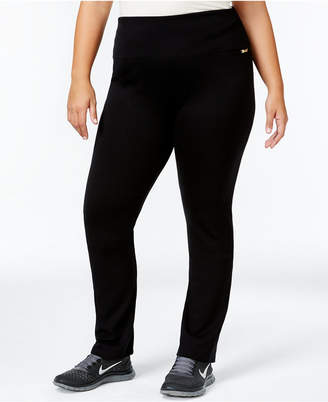 Calvin Klein Plus Size Pull-On Active Leggings