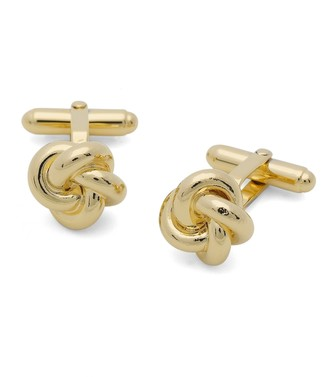 Brooks Brothers Oversized Love Knot Cuff Links