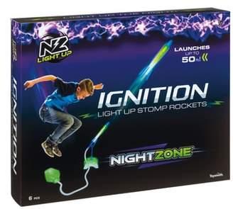 Toysmith NightZone Ignition Light-Up Stomp Rockets