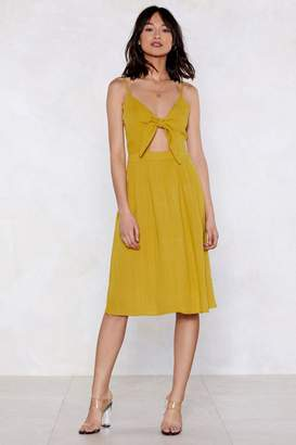 Nasty Gal Forward Thinking Tie Dress