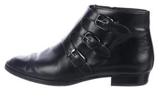 MICHAEL Michael Kors Patent Leather Ankle Boots Black Patent Leather Ankle Boots