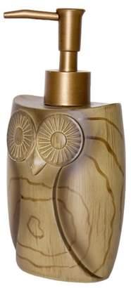 Owl Faux Wood Lotion Bottle