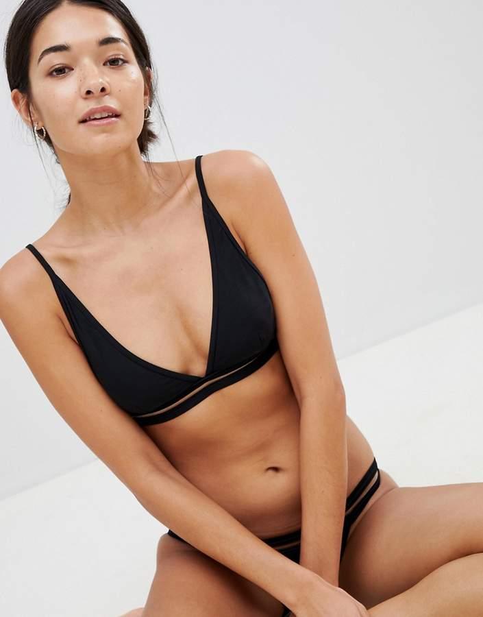 Twiin – Tyllerr – Bikinioberteil mit hohem Trägeransatz
