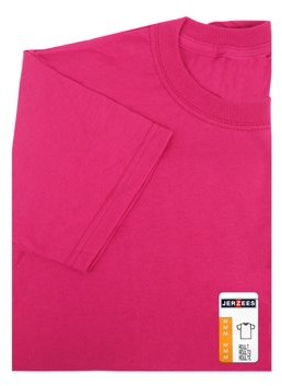Jerzees TShirt Adult Medium Cyber Pink