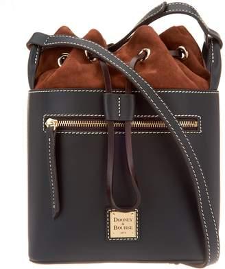 Dooney & Bourke Vachetta Leather Drawstring Crossbody