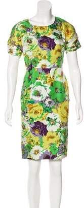 Blumarine Silk Sheath Dress w/ Tags