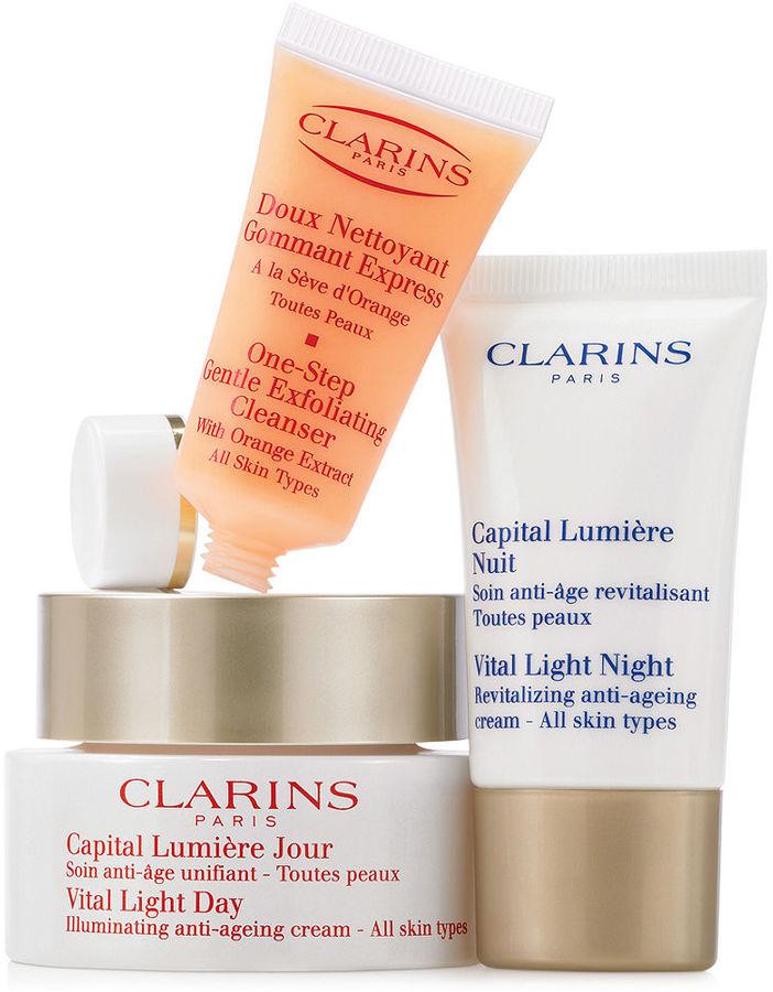 Clarins Vital Light Skin Solutions Value Set
