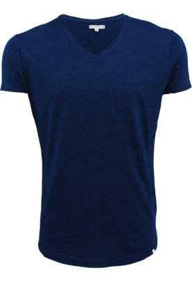 Orlebar Brown OB-V Navy Tailored Fit V-neck T-Shirt