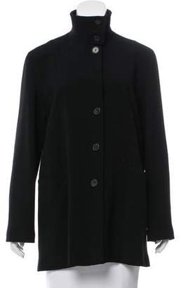 Giorgio Armani Short Button-Up Coat