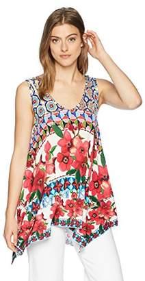 Desigual Women's Cecil Sleeveless Colorful T-Shirt