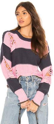 NSF Presley Destroyed Sweater