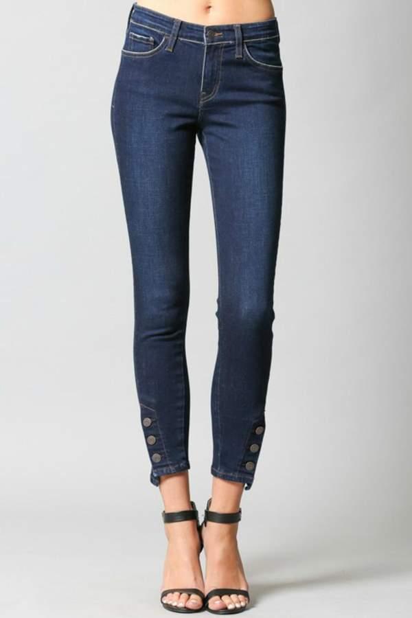 Button Hem Pants