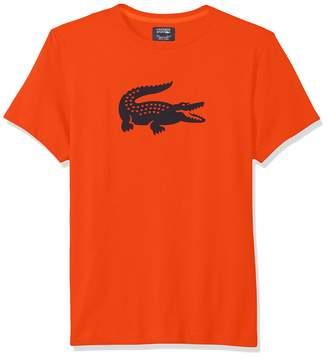 Lacoste Men's Sport Short Sleeve Jersey TECH W/Gator Graphic Logo