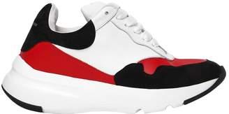Alexander McQueen 50mm Suede & Leather Sneakers