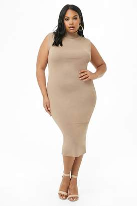 Forever 21 Brown Plus Size Dresses on Sale - ShopStyle Canada