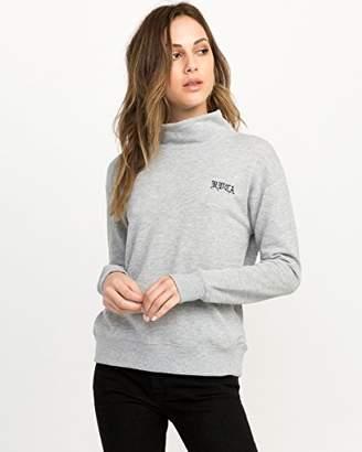RVCA Junior's Bert OE Mockneck Pullover Sweatshirt