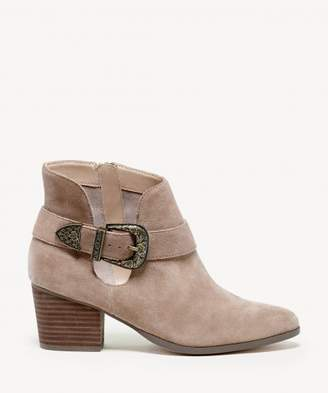Sole Society Jax Western Buckle Bootie