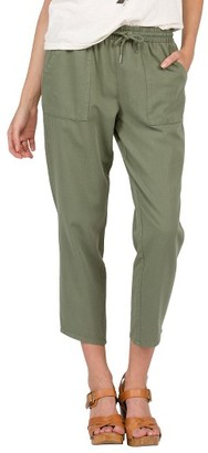 Women's Volcom Ditty Bopper Crop Pants $55 thestylecure.com