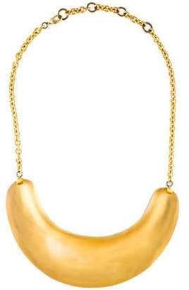 Alexis Bittar Lucite Collar Necklace Gold Lucite Collar Necklace