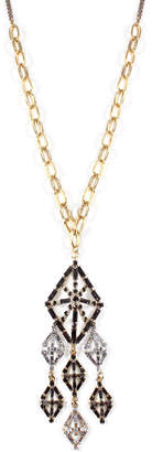 Lulu Frost Gloria Long Crystal Pendant Necklace