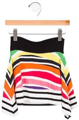 Jean Paul Gaultier Knit Striped Skirt