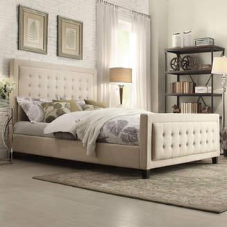 Three Posts Woodside Upholstered Platform Bed