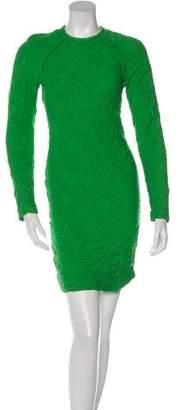 Yigal Azrouel Long Sleeve Mini Dress